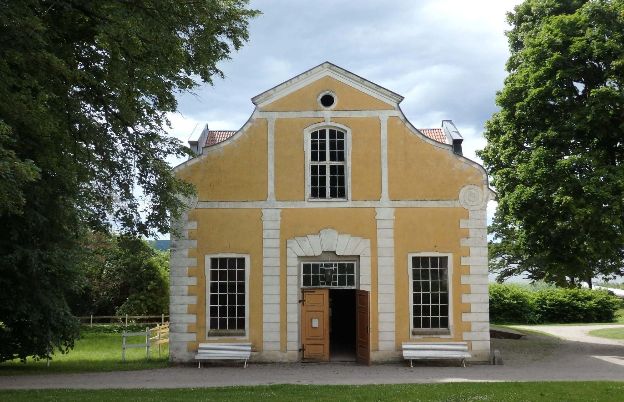 One of the original buildings at Julita estate