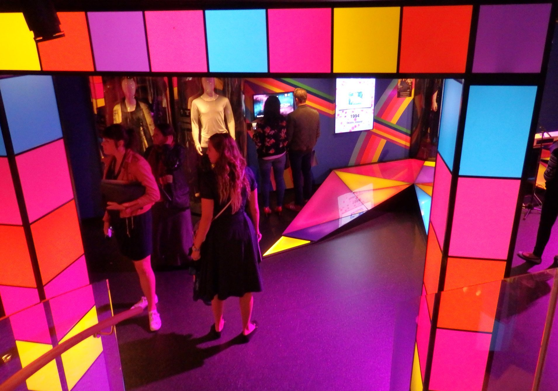 The entrance to ABBA The Museum takes you right to the age of disco.