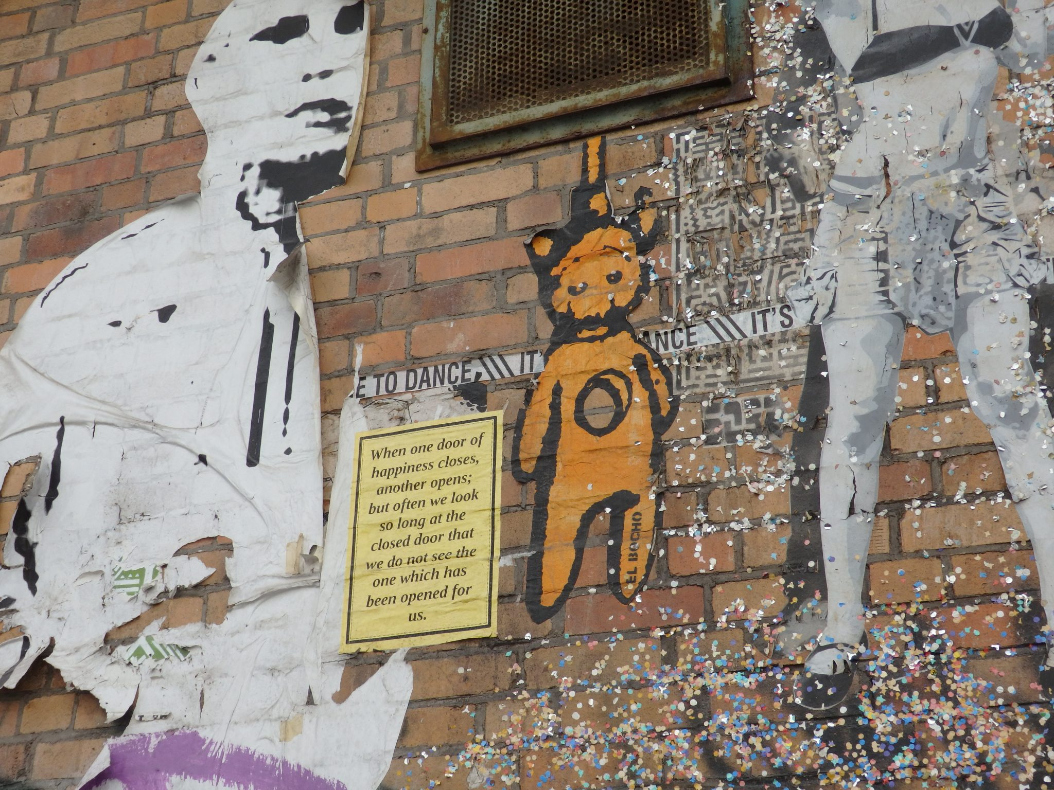 street art by El Bocho in Berlin