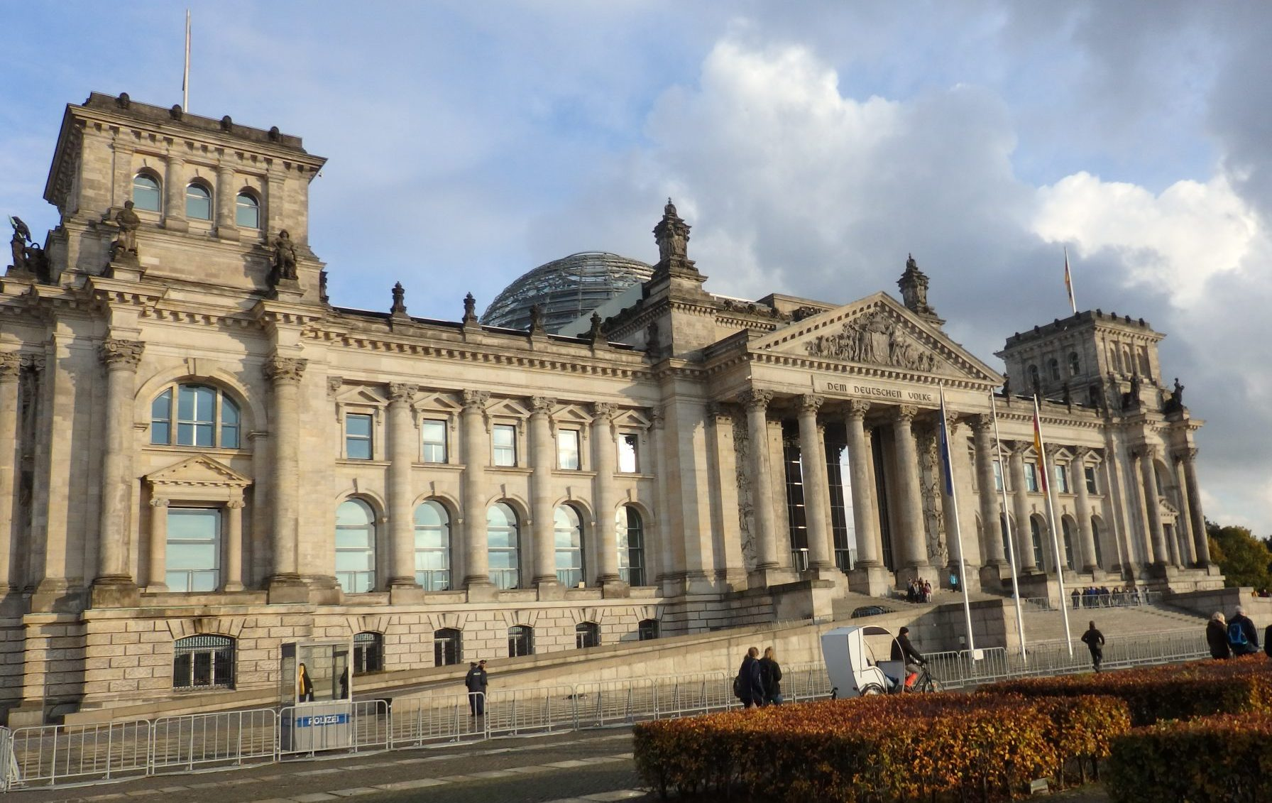 Touring Reichstag Dome for a Wider View of Berlin | Rachel ...