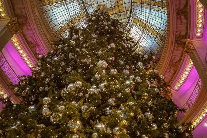 The huge tree at Neiman Marcus department store in San Francisco. Photo courtesy of Noel Morata