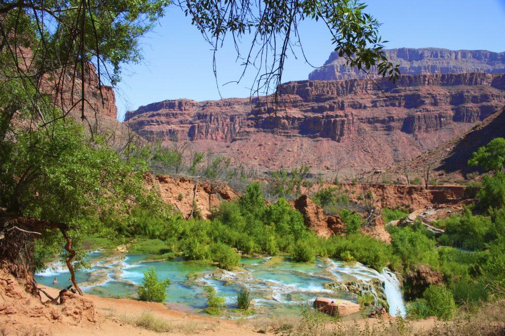 Navajo Falls in the Grand Canyon at Havasupai. Photo courtesy Jennifer Mims