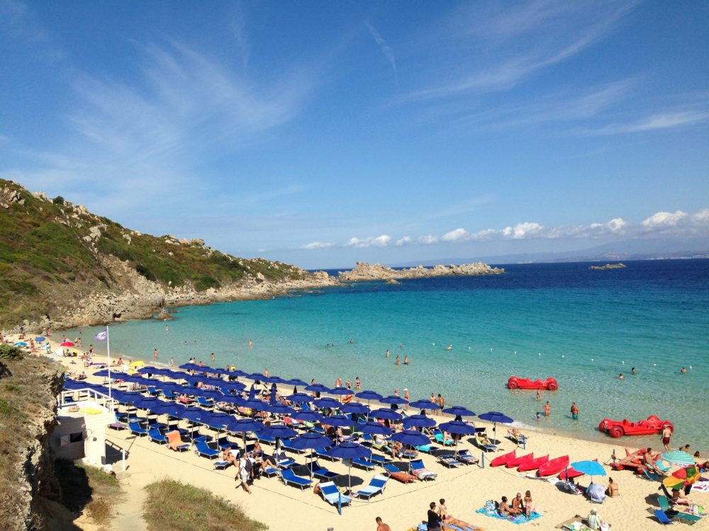 A Sardinian beach. Photo courtesy of Alison Roberts