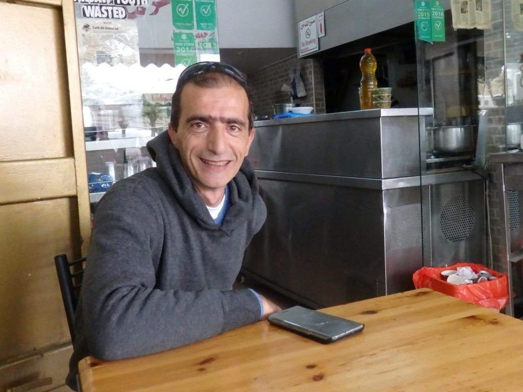 Muhammed, owner of the first of my Bitemojo stops