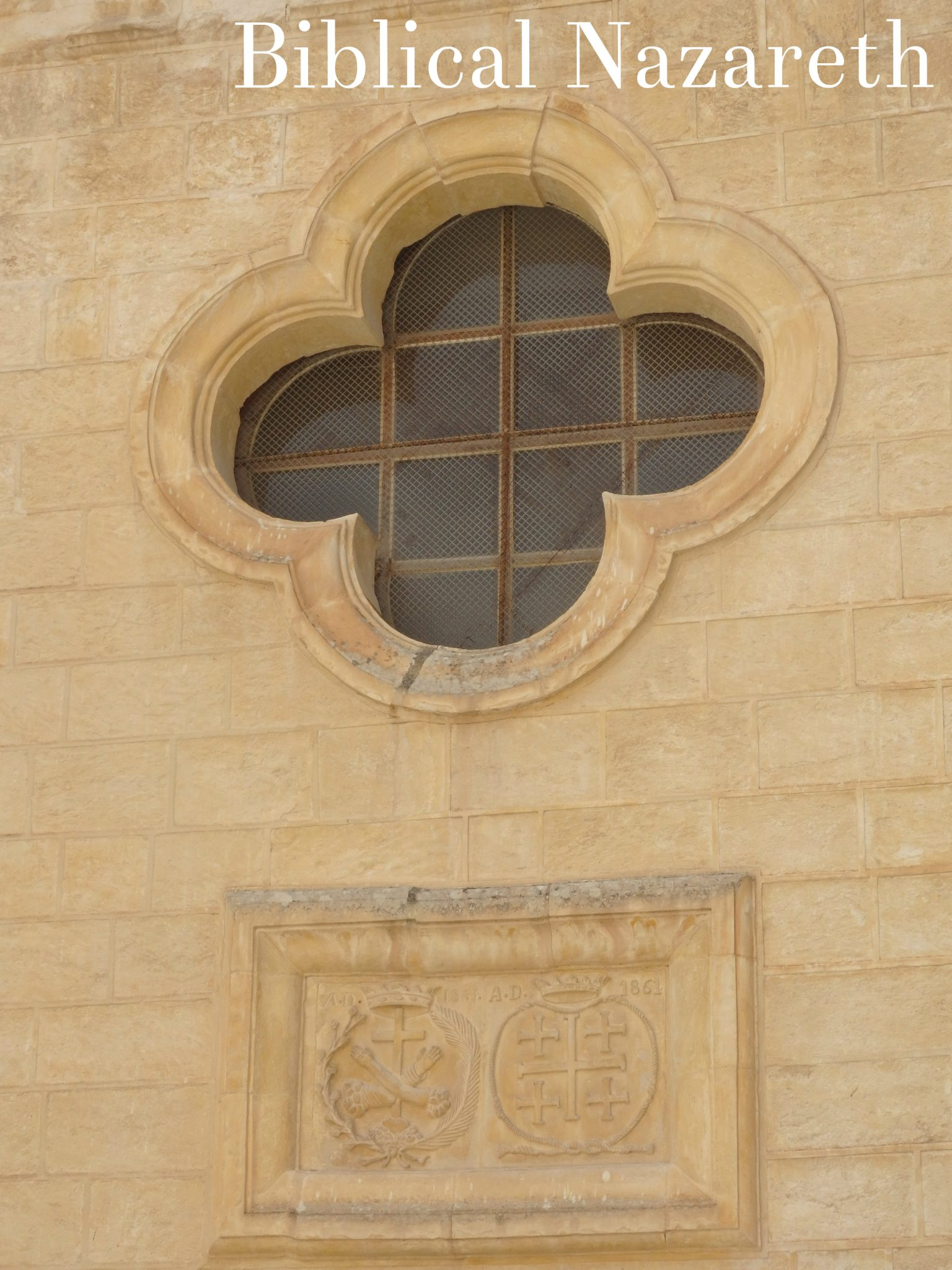 A detail of the facade of the Church of Mensa Christi: a pinnable image!