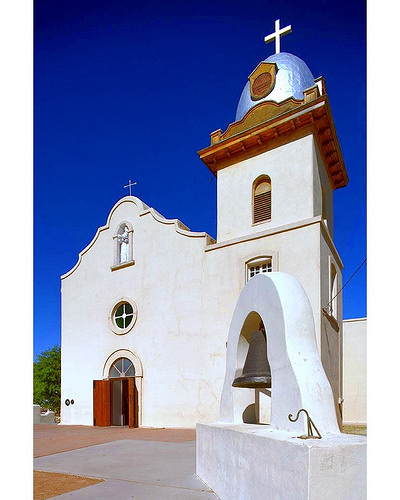 Traces of El Paso's history: Ysleta Mission. Image via Flickr by VisitElPaso