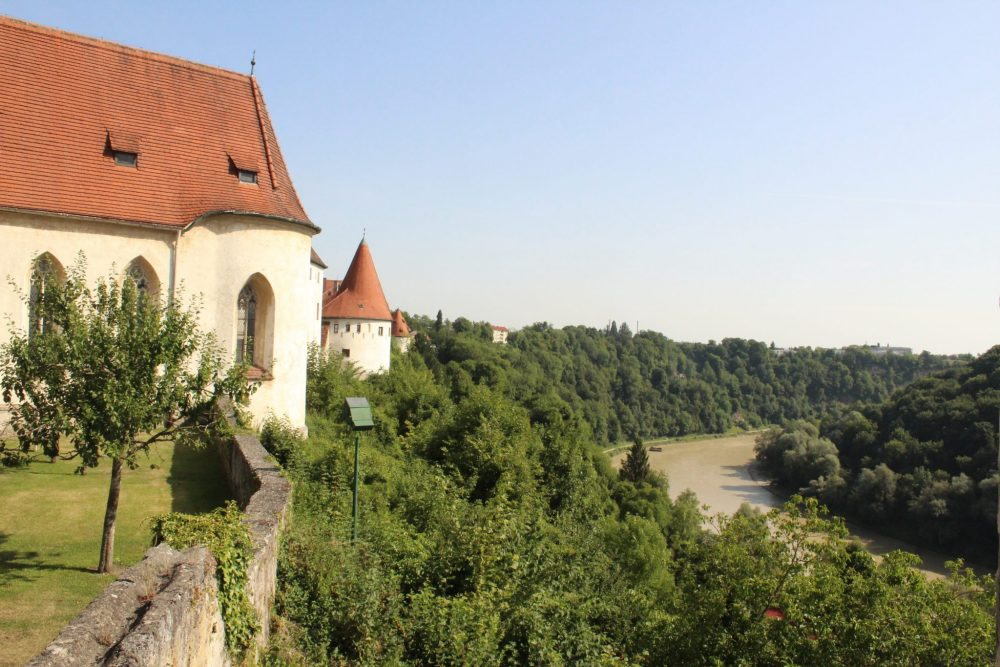 A view from Burghausen Castle