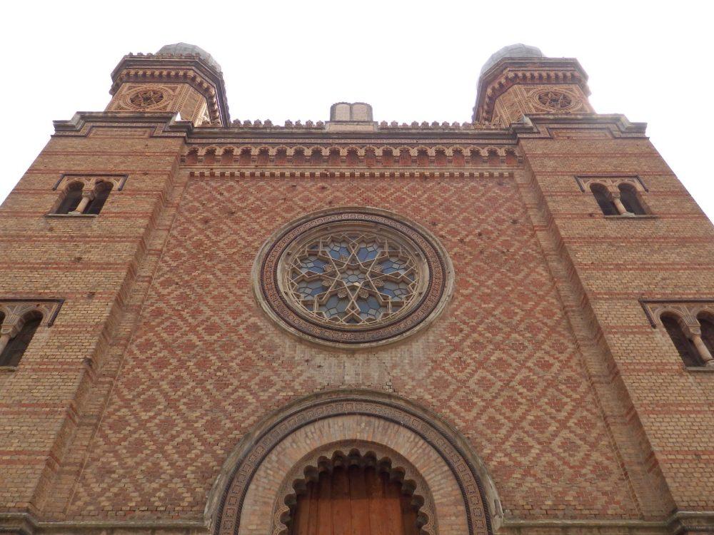 a synagogue in Timisoara, Romania. Timisoara photo essay.