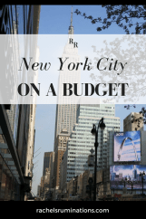Pinnable image for New York City on a Budget