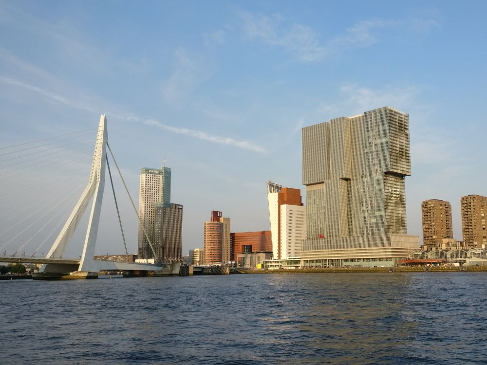 A self-guided Rotterdam walking tour: Architecture and art
