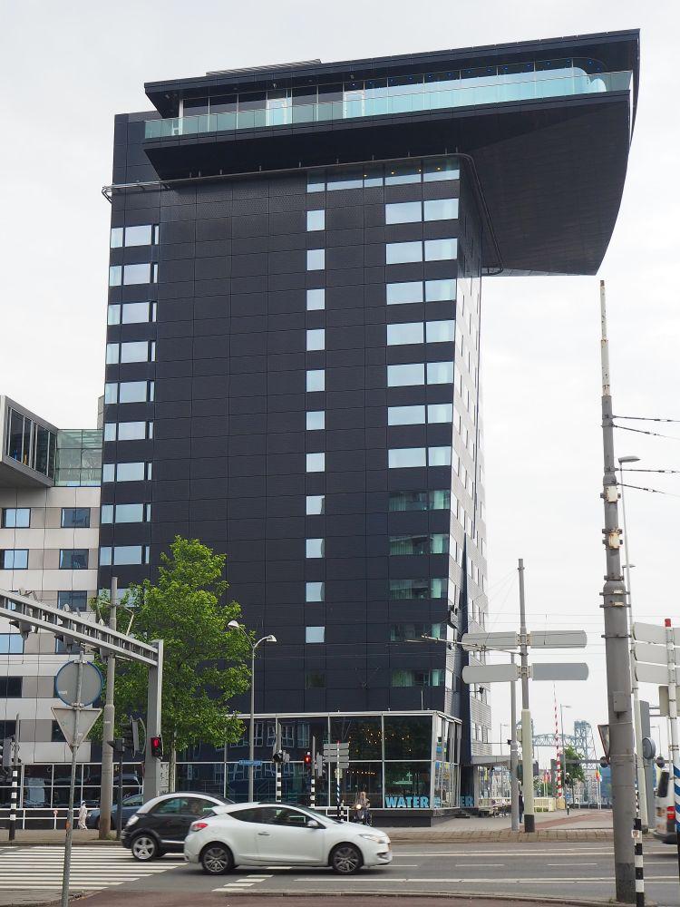 Inntel building, right near the Erasmus Bridge in Rotterdam