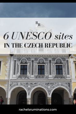 The Czech Republic is home to 12 UNESCO sites. This article describes 6 of them, all worth leaving Prague for! #unesco #visitcz #czechrepublic
