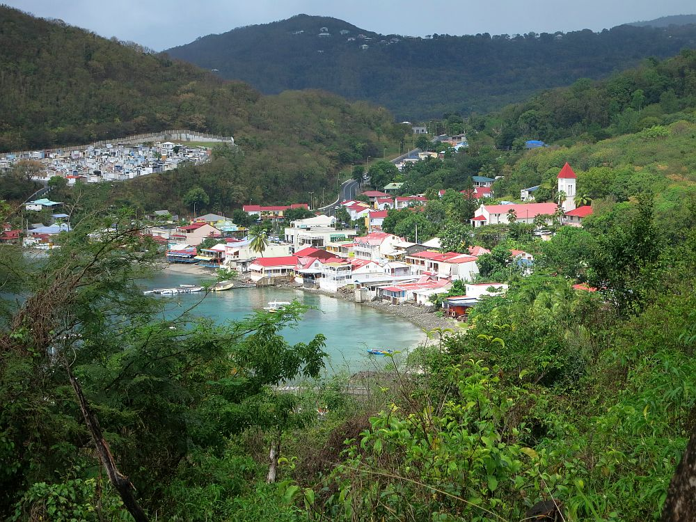 """If you watch """"Death in Paradise,"""" you'll recognize this view of Deshaies."""
