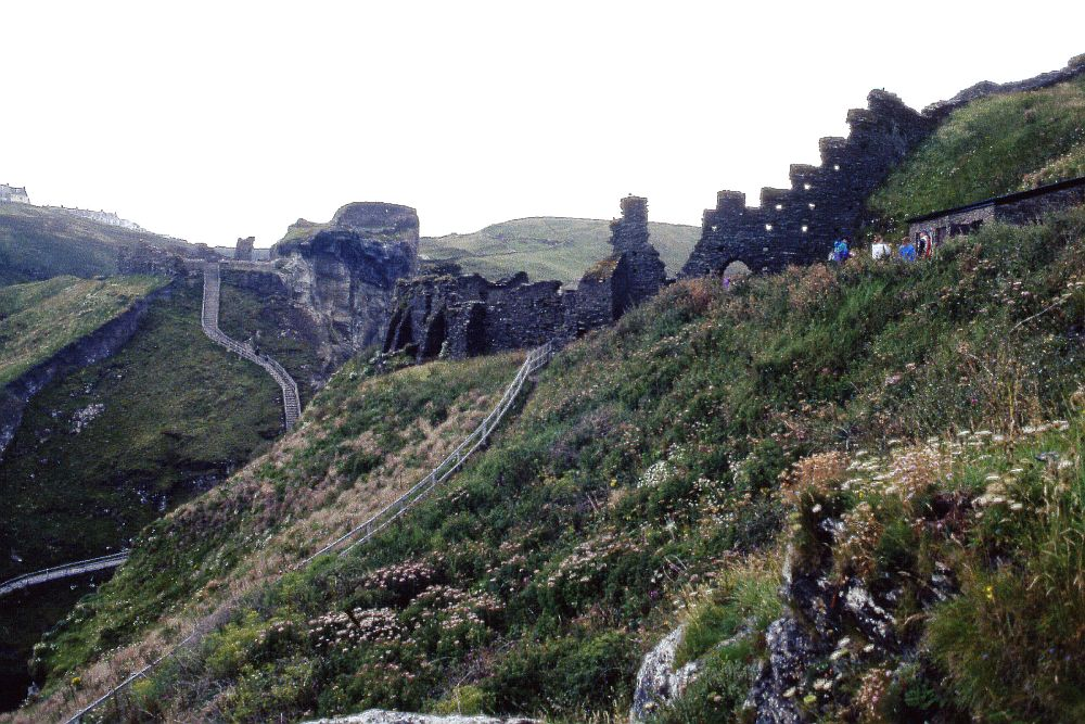 Not much remains of the castle purported to be King Arthur's birthplace in Cornwall.