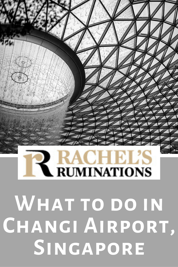 Lots of things to do at Changi Airport in Singapore. It's a destination in itself! #sponsored @cathaypacific #changiairport #singapore #rachelsruminations via @rachelsruminations