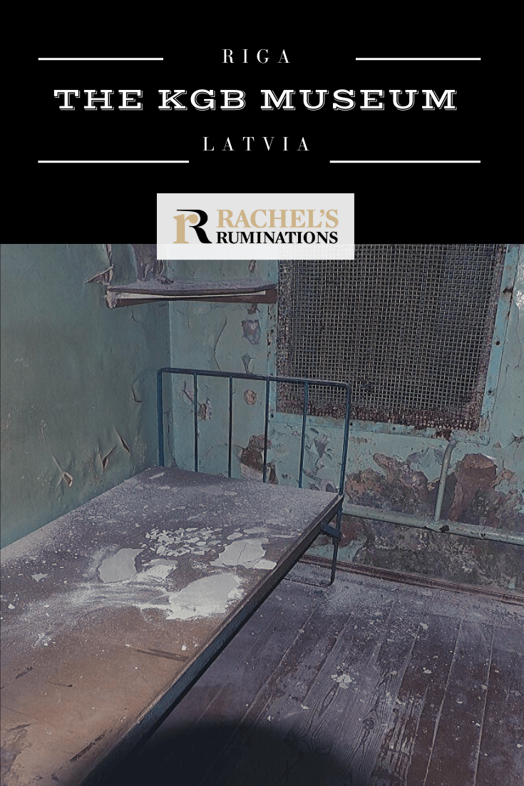 """The KGB Museum, Riga, shows what the KGB did at """"The Corner House"""": imprison people for months, interrogate and torture them, then either execute them on the spot or send them to labor camps in Siberia. #riga #latvia #kgb #coldwar #rachelsruminations via @rachelsruminations"""