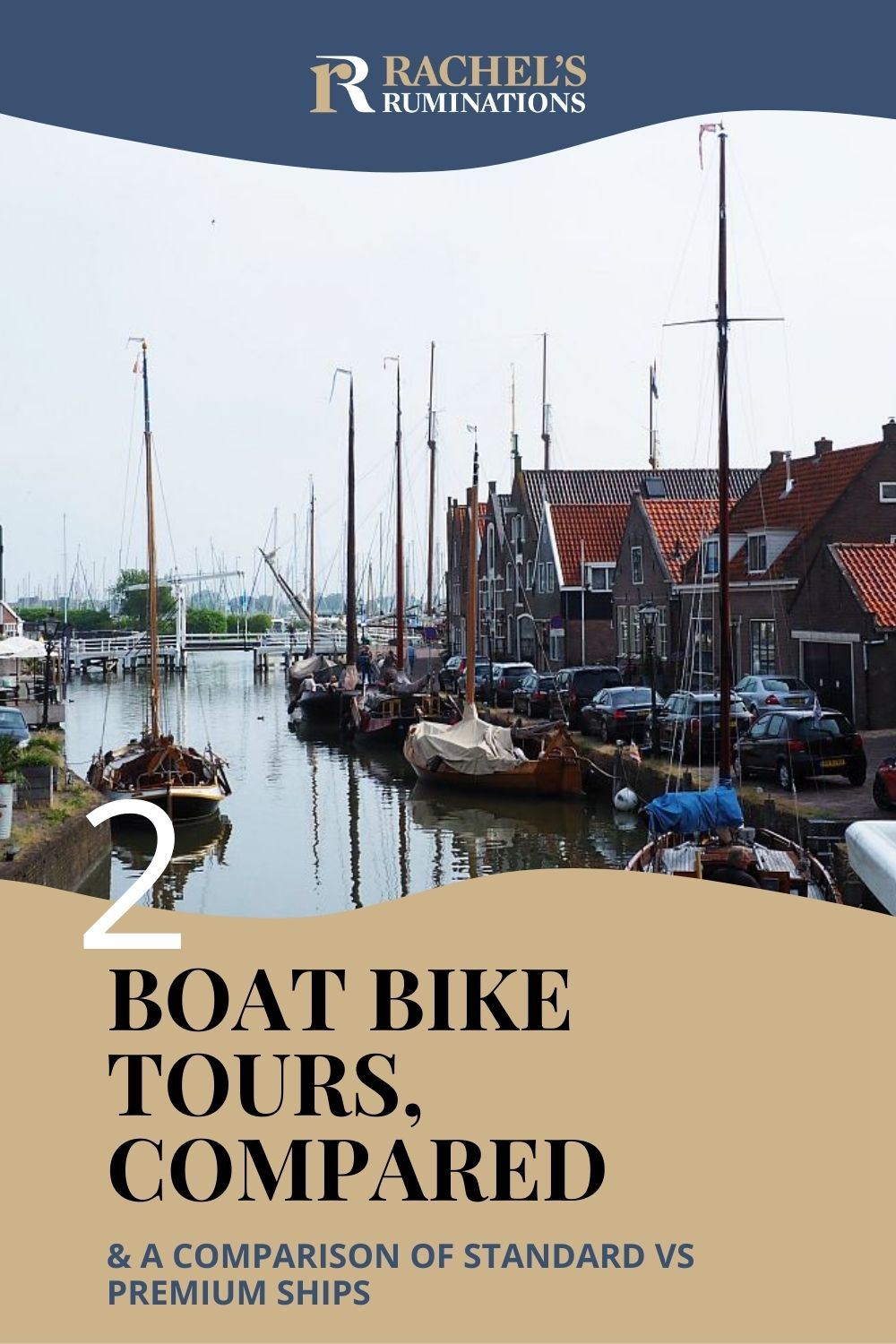 On Boat Bike Tours, the boat serves as a floating hotel while guests go cycling. Read this review of their Northern route trip and a comparison of their standard vs. premium ships, plus some tips! via @rachelsruminations