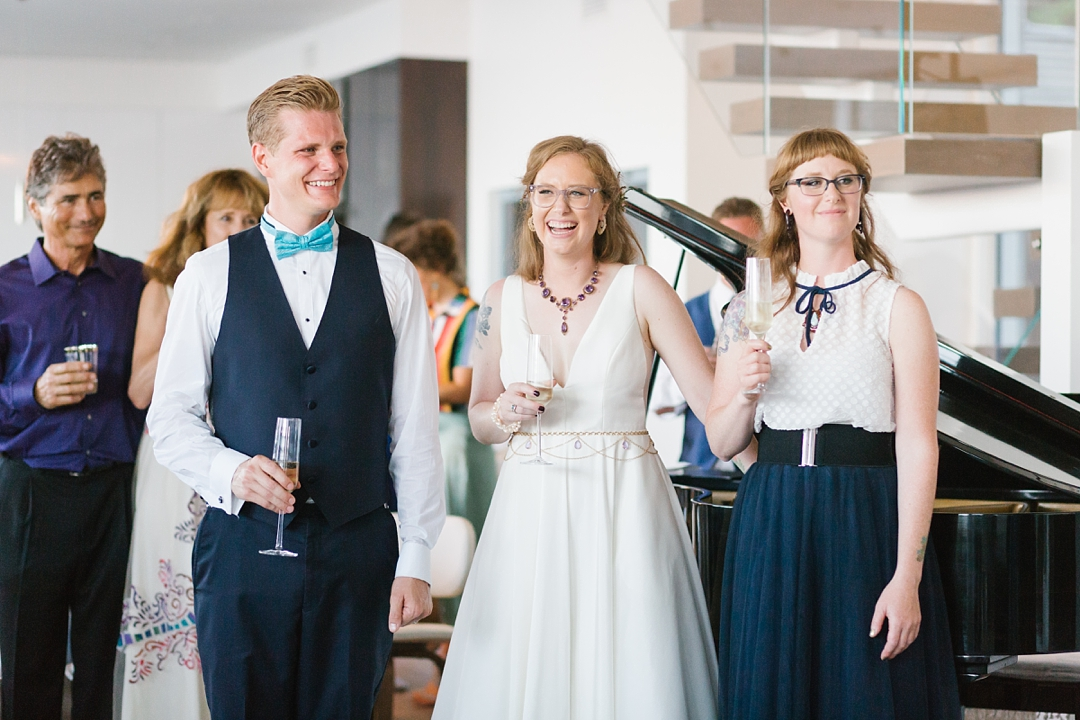 palos verdes private residence wedding