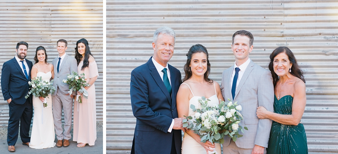 wedding timeline tips for natural light family photos