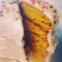 Pumpkin Cake! mmmmm