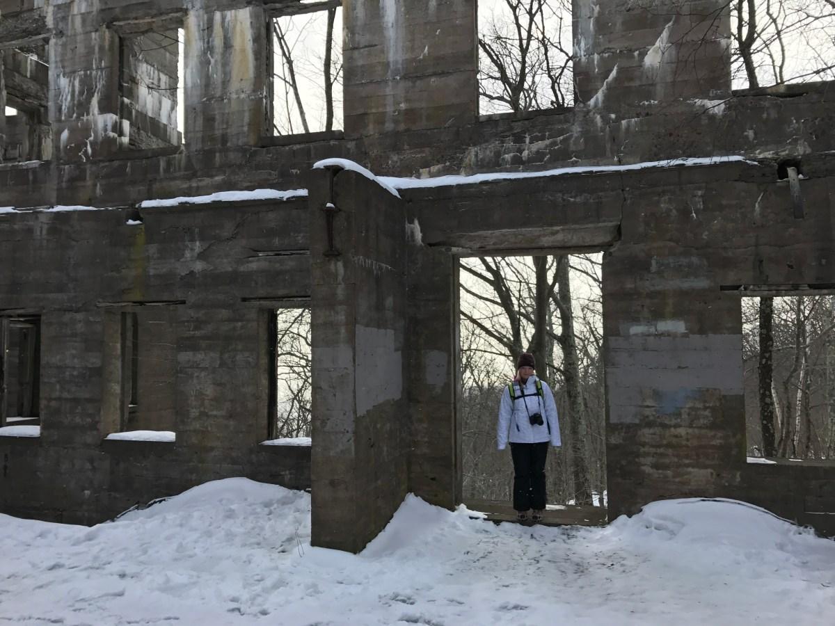 Overlook Mountain- Catskills Ny Snowy Adventure