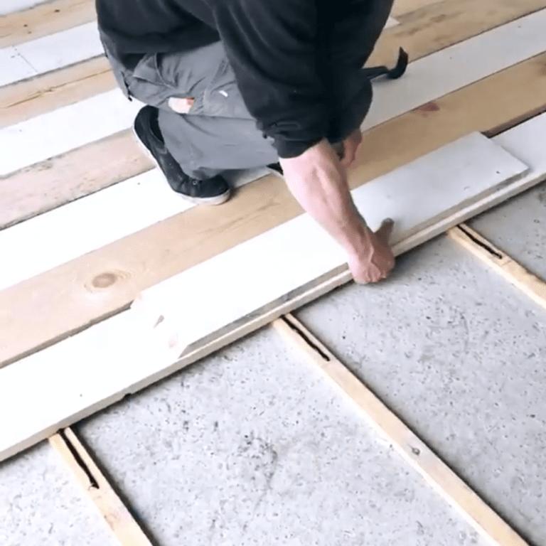 Comment Fabriquer Un Plancher Avec Des Planches De Coffrage Pas Cher
