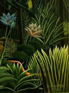 Henri Rousseau, Il Sogno, cropped