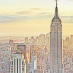 (Pulled from Google Images marked for reuse): New York City by irot2: http://irot2.deviantart.com/art/New-york-city-477151392