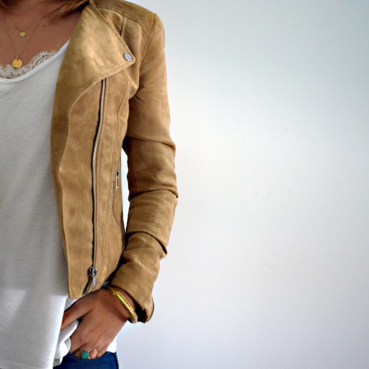 spring is coming veste beige