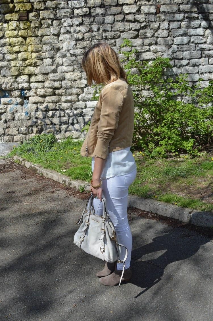 jeans blanc rachel vdw
