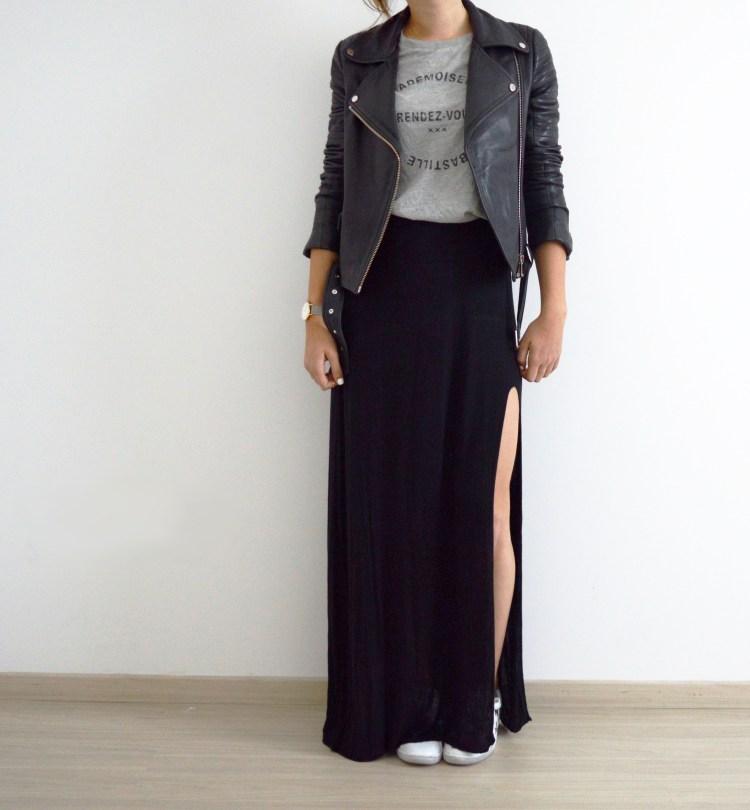 jupe longue rachel vdw