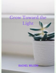 A cover image for the latest of my published short fiction, Grow Toward the Light