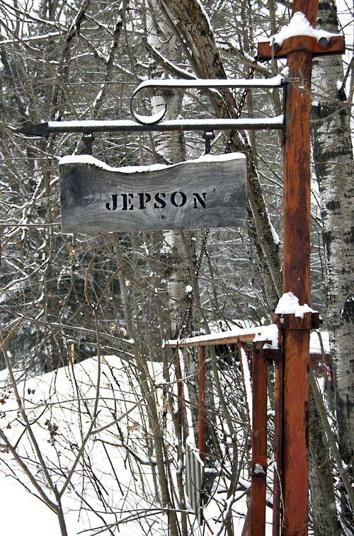 Jepson sign
