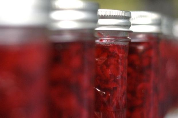 Sour Cherry Preserves Recipe {Clean.}