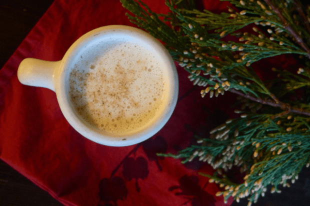 (Crazy good) thick homemade eggnog | Clean.