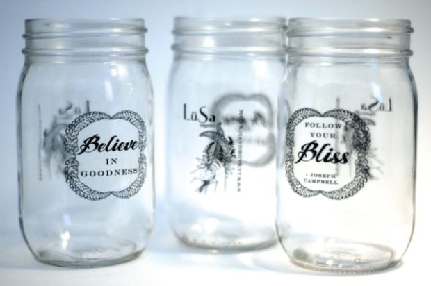 LuSa Organics Mason Jar Cup | Clean.