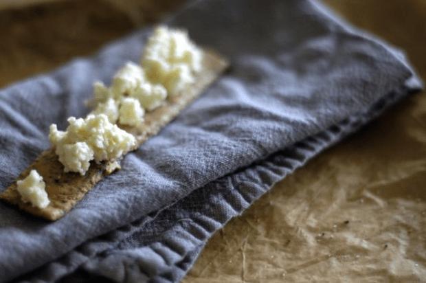 homemade garlic cheese spread | Clean.
