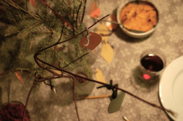 Our Thanksgiving tree tradition | Clean.