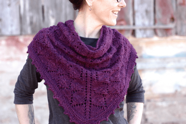 Homegrown Shawl : : Rachel Wolf
