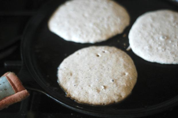 Gluten-free, Egg-free Pancake Recipe