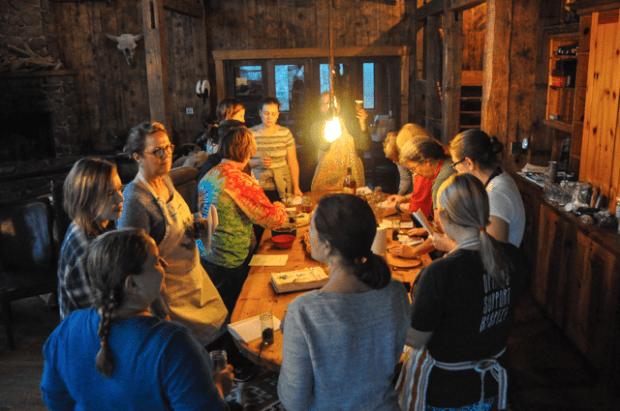 LüSa Organics Herbal Retreat: spring 2017