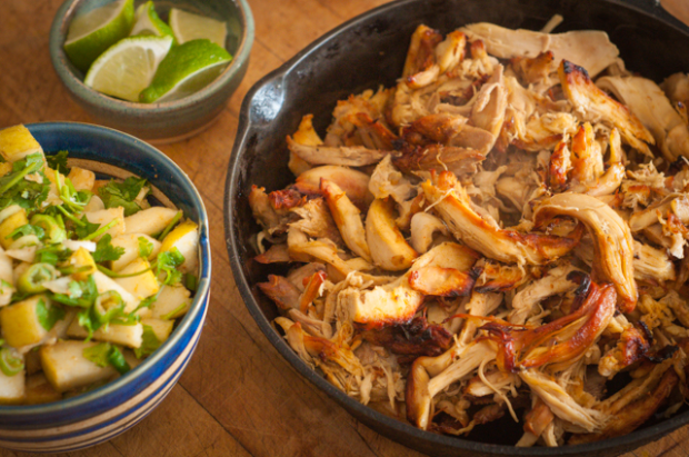 Instant Pot chicken carnitas (or use your slow cooker!) Paleo
