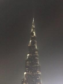 The top of the Burj Khalifa