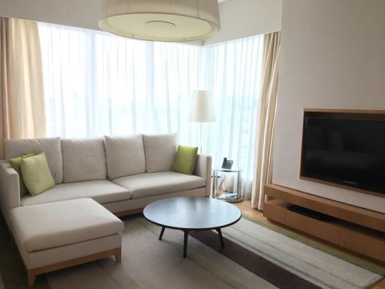 Corner apartment on the 38th floor