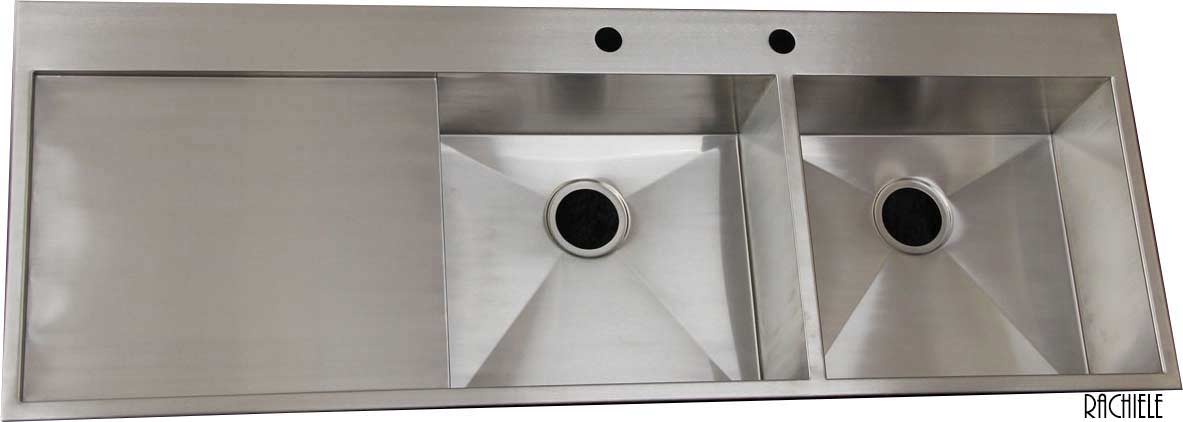 Custom Stainless Steel Sink: Under Mount And Workstation