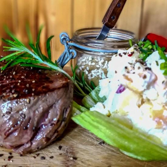 Farmer Steak bei uns in der RachKuchl am Vomperberg