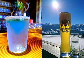 Trinken in der RachKuchl am Vomperberg