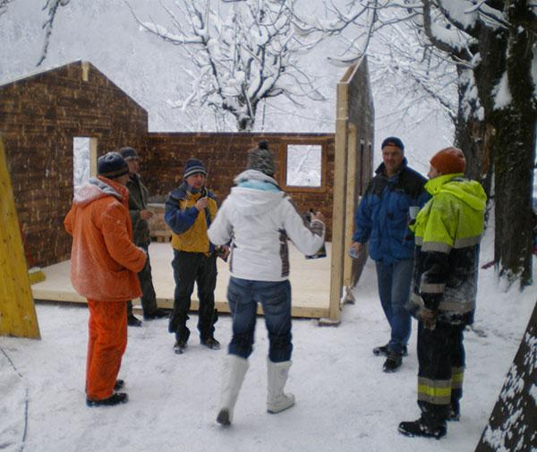 Die RachKuchl am St. Georgenberg 2007 bis 2012