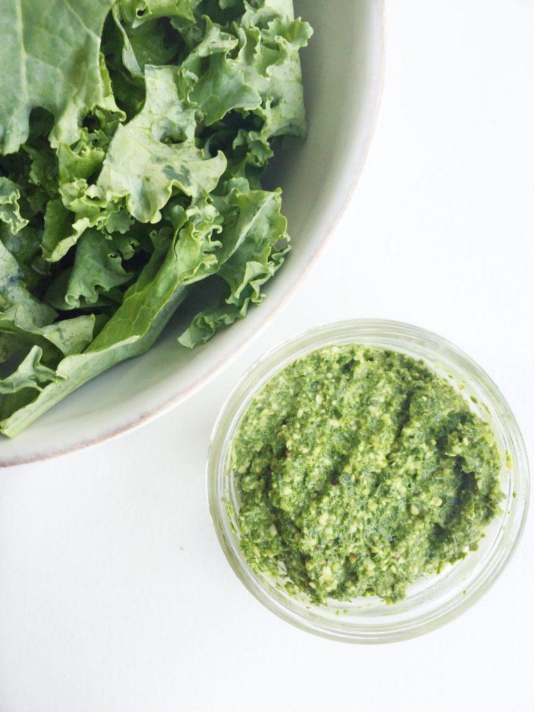 Creamy Kale Pesto