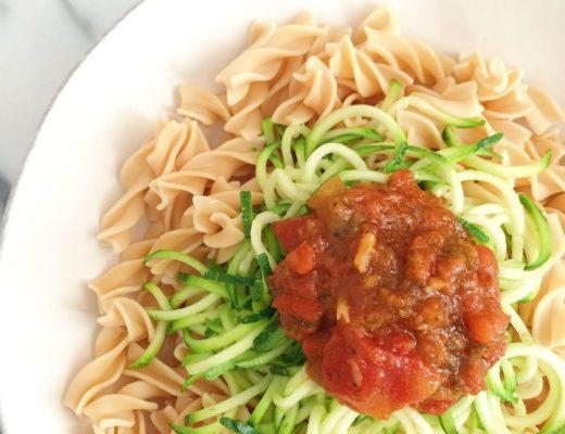 Simple Vegetarian Pasta